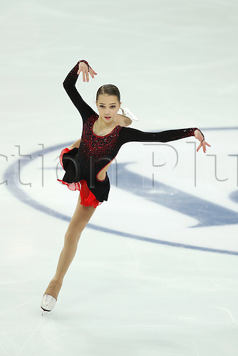 08.12.2016. Palais Omnisports, Marseille, France. ISU Junior Figure Skating Grand Prix Final.  Elizaveta Nugumanova (RUS) competes in the Women's Short Program.