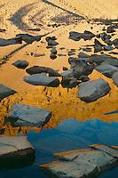 Morning reflections on Baker Lake<br /> Great Basin National Park<br /> Snake Range<br /> Great Basin,  Nevada