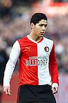 Nederland, Rotterdam, 27 januari  2013.Eredivisie.Seizoen 2012/2013.Feyenoord-FC Twente.Anass Achahbar van Feyenoord in actie