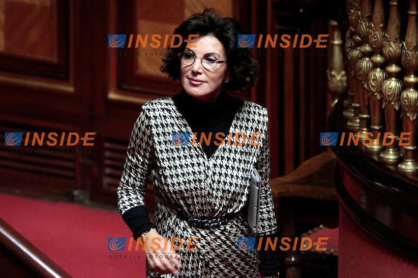 Anna Cinzia Bonfrisco.Roma 21/05/2013 Senato. Il Premier riferisce al Senato sul consiglio UE..Italian Premier's speech at the Senate about UE..Photo Samantha Zucchi Insidefoto