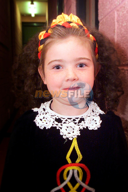Danielle Jennings, pictured at the Boyneside feis on Sunday..Picture: Arthur Carron/Newsfile