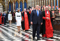 Donald Trump Visit to Westminster Abbey - President Trump State Visit to London