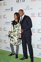 BURBANK, CA - OCTOBER 22: Will Smith, Jaden Smith attends the Environmental Media Association 26th Annual EMA Awards Presented By Toyota, Lexus And Calvert at Warner Bros. Studios on October 22, 2016 in Burbank, California (Credit: Parisa Afsahi/MediaPunch).