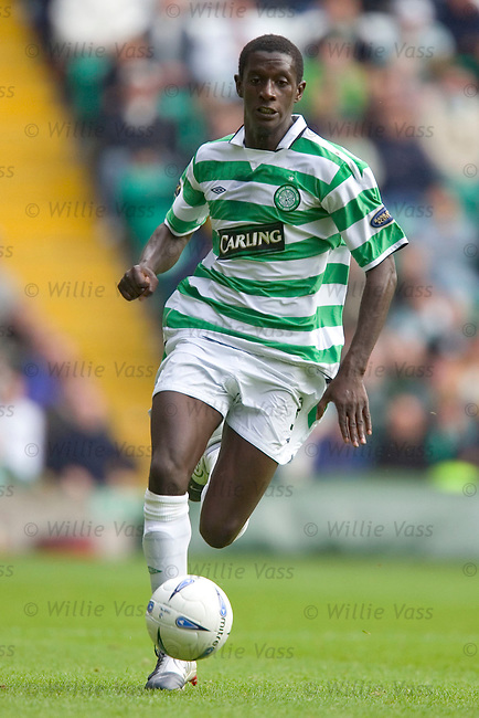 Momo Sylla, Celtic.stock season 2004-2005.pic willie vass