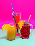 Fruit juices - apple, orange, cranberry