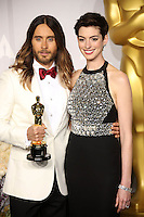 Jared Leto, Anne Hathaway<br />