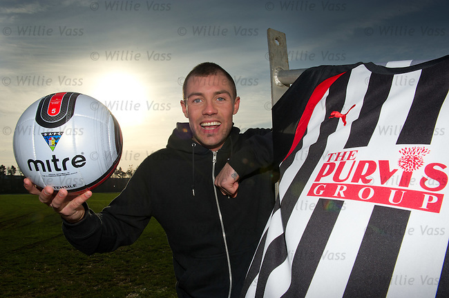 Jordan McMillan is all smiles after signing for Dunfermline from Rangers