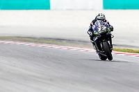 3rd November 2019; Sepang Circuit, Sepang Malaysia; MotoGP Malaysia, Race Day;  The Monster Energy Yamaha rider Maverick Vinales on his way to winning the race - Editorial Use