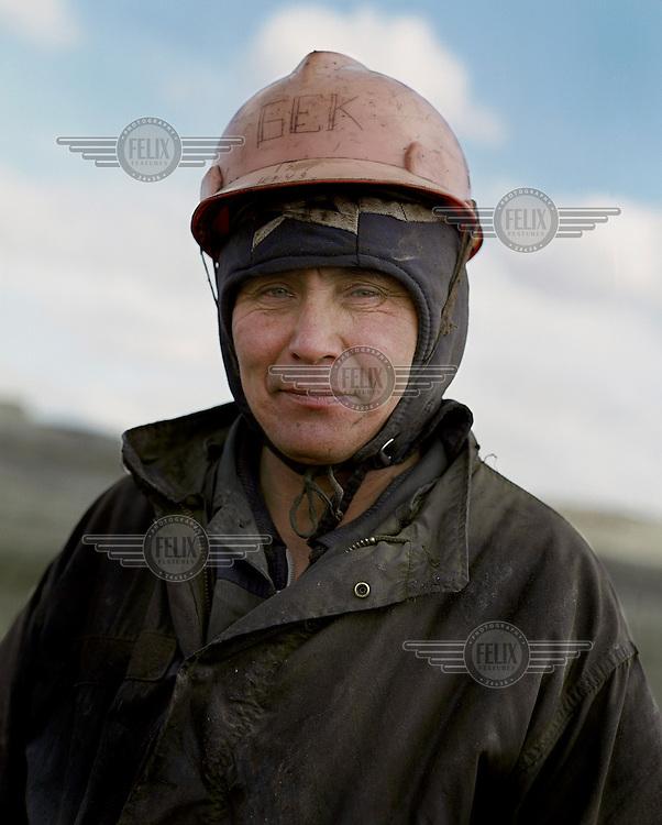 Bek, an oil worker on the Ouzen field.