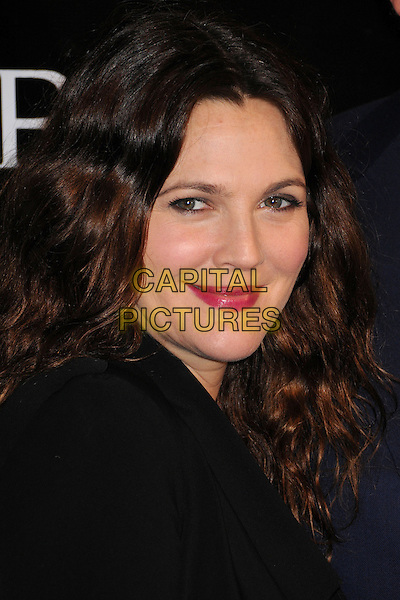 Drew Barrymore.Rodeo Drive Walk of Style 2012 held on Rodeo Dr., Beverly Hills, California, USA..December 5th, 2012.headshot portrait black side pink lipstick .CAP/ADM/BP.©Byron Purvis/AdMedia/Capital Pictures.