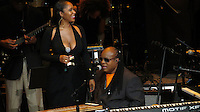 NEW YORK, NY - OCTOBER 4: Stevie Wonder at Paul Simon's Children's Health Fund's 25th Anniversary Benefit Concert at Radio City Music Hall on October 4, 2012. Credit Jen Maler/MediaPunch Inc. /©NortePhoto