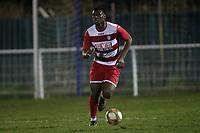 Columbus Ayayi of Ilford during Redbridge vs Ilford, Essex Senior League Football at Oakside Stadium on 10th January 2020