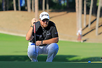 Shane Lowry (IRL) on the 17th green during Friday's Round 2 of the 2018 Turkish Airlines Open hosted by Regnum Carya Golf &amp; Spa Resort, Antalya, Turkey. 2nd November 2018.<br /> Picture: Eoin Clarke | Golffile<br /> <br /> <br /> All photos usage must carry mandatory copyright credit (&copy; Golffile | Eoin Clarke)
