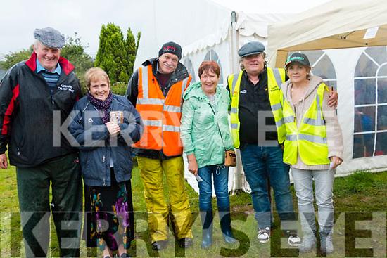 Cllr Dan McCarthy, Kathleen Marrinan, Austin Gogfrey, Margaret Doran, Denis Harringtion, and Eileen Hickey at the Kilgarvan Show.