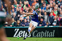 Rhys Priestland of Bath Rugby kicks the match-winning conversion. Gallagher Premiership match, between Leicester Tigers and Bath Rugby on May 18, 2019 at Welford Road in Leicester, England. Photo by: Patrick Khachfe / Onside Images