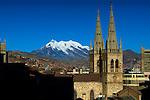 Mt Illimani_Iglesia_La Paz_Bolivia