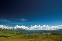 Loch Etive and Ben Cruachan from Beinn Lora, Benderloch, Argyll & Bute