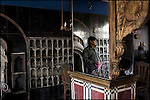 preparing for the evening's guests at a restaurant in the old city, lahore