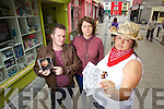 Disappointed Garth Brooks pictured at B-mobile Ticketmaster outlet in Tralee from left: Joe Burkett, Caroline Griffen and Karen Best.