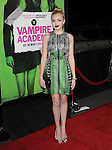 Peyton List attends The Weinstein Company L.A. Premiere of Vampire Academy held at The Premiere House at Regal Cinemas L.A. Live Stadium 14 in Los Angeles, California on February 04,2014                                                                               © 2014 Hollywood Press Agency