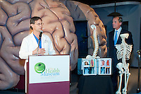 Lt. Gov. David Dewhurst presents Scoliosis Awareness Month Proclamation at the Houston Health Museum