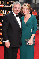 Eamonn Holmes and Ruth Langsford arrives for the Olivier Awards 2015 at the Royal Opera House Covent Garden, London. 12/04/2015 Picture by: Steve Vas / Featureflash