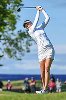 Sandra Gal (DEU) watches her tee shot on 2 during the round 3 of the KPMG Women's PGA Championship, Hazeltine National, Chaska, Minnesota, USA. 6/22/2019.<br /> Picture: Golffile | Ken Murray<br /> <br /> <br /> All photo usage must carry mandatory copyright credit (© Golffile | Ken Murray)