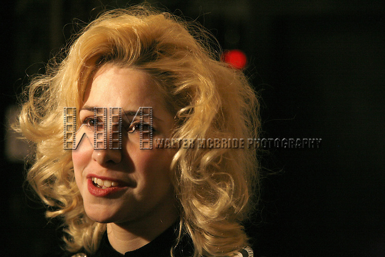 Nellie McKay.attending the Opening Night after party for the Roundabout Theatre Company's Broadway production of THE THREEPENNY OPERA at Studio 54 in New York City.. April 20, 2006. © Walter McBride/WM Photography