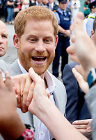 Prince Harry, The Duke of Sussex leaves at the EPIC Museum in Dublin, on July 11, 2018, the interactive museum tells the story of the 10 million Irish people who have emigrated across the world, on the last of a 2 days visit to Dublin  <br /> Photo : Albert Nieboer / /DPA /MediaPunch ***FOR USA ONLY***