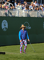 160213 Funny Man Bill Murray during Saturday's Third Round of The AT&T Pebble Beach National Pro-Am in Carmel. California. (photo credit : kenneth e. dennis/kendennisphoto.com)