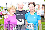Marie Walsh, Castleisland, Senan O'Brien, Clare and Maureen Harrington, Kenmare, at the Killarney Lions Club 10k road race on Sunday...................