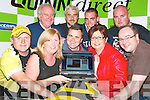 Launching the Athea Road Race website at the Gables in Athea on Monday night were front Martin Murphy, Margaret Carroll, Joanne Kelly Walsh and Connie Herbert, with back l-r Mike Murphy, Pat Hayes, Tim Kelly, Denis Hayes and Alan Dollery.   Copyright Kerry's Eye 2008