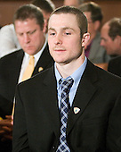 Austin Smith (Colgate) - The 2012 Hobey Baker Award ceremony was held at MacDill Air Force Base on Friday, April 6, 2012, in Tampa, Florida.