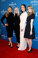 LOS ANGELES - FEB 11:  Pascale Hutton, Michelle Vicary, Erin Krakow, Andrea Brooks at the 'When Calls the Heart' TV show season 7 premiere at the Beverly Wilshire Hotel on February 11, 2020 in Beverly Hills, CA