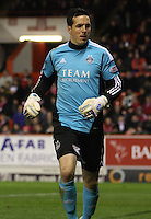 Jamie Langfield in the Aberdeen v St Mirren Scottish Communities League Cup match played at Pittodrie Stadium, Aberdeen on 30.10.12.