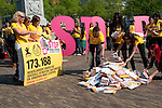 protest stop trafficking youth and children