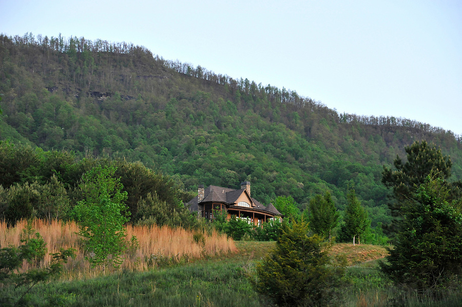 Brights Creek, a high end luxury community in the Mountains of Mill Springs, North Carolina, holds a weekend event for community members and investors in May of 2014.