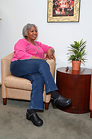 LOS ANGELES - APRIL 12: Jana Lloyd McKinney at General Counseling - client photo shoot at the Actors Fund on April 12, 2019 in Los Angeles, California