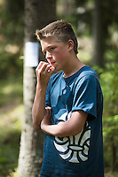 20140806 Vilda-l&auml;ger p&aring; Kragen&auml;s. Foto f&ouml;r Scoutshop.se<br /> scout, skog, t&auml;nker, tr&auml;d, dag
