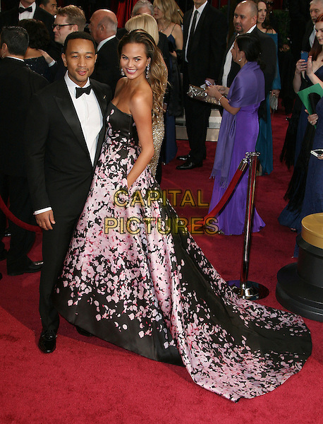 02 March 2014 - Hollywood, California - John Legend, Christine Teigen. 86th Annual Academy Awards held at the Dolby Theatre at Hollywood &amp; Highland Center. <br /> CAP/ADM<br /> &copy;AdMedia/Capital Pictures