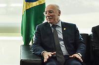 BRASÍLIA, DF, 08.06.2016 – AGENDA-TEMER –  o chanceler do Paraguai, Eladio Loizaga durante reunião na manhã desta quarta-feira, 08, no Palácio do Planalto. (Foto: Ricardo Botelho/Brazil Photo Press)