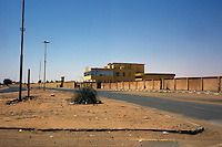 Sebha, Libya, March 30, 2011..A Coalition airstrike hit a Libyan army ammunition depot, one of the largest in the country; although the depot is located about 3km from the city, the multiple explosions' shockwaves destroyed 25% of the town windows. several stray Libyan katioucha rockets from the burning depot hit Sebha, causing material damages and civilian casualties..