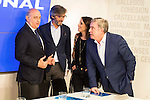 Jorge Fernandez Diaz during the meeting with the national executive committee of Partido Popular at Genova in Madrid. May 03, 2016. (ALTERPHOTOS/Borja B.Hojas)