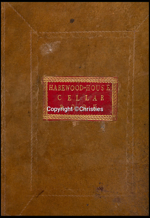 BNPS.co.uk (01202 558833)<br /> Pic: Christies/BNPS<br /> <br /> ***Please Use Full Byline***<br /> <br /> A Harewood rum cellar book.<br /> <br /> Sixteen mouldy bottles of the world's oldest rum have sold for a whopping &pound;135,000 after they were discovered in the cellars of an British stately home.<br /> <br /> The rum was made in Barbados 235 years ago then brought back to Britain, where it was a popular spirit in Georgian times, by aristocrat Henry Lascelles, the Earl of Harewood.<br /> <br /> Amazingly the dust-covered bottles were only discovered in 2011, when Mark Lascelles, brother of the eighth Earl of Harewood, performed a stock check at the Grade II-listed property in Leeds.<br /> <br /> The sale means each bottle of rum is worth &pound;8,482, making it not only the oldest but also the most expensive rum in the world.