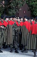 Roma, 24 Marzo 2013.Commemorazione per il 69° anniversario dell'eccidio delle Fosse Ardeatine,compiuto a Roma dalle truppe di occupazione della Germania nazista il 24 marzo 1944, furono uccisi, 335 civili e militari italiani. 1 Reggimento Granatieri di Sardegna
