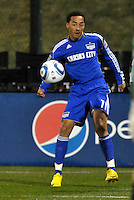 Ryan Smith...Kansas City Wizards defeated D.C Utd 4-0 in their home opener at Community America Ballpark, Kansas City, Kansas.