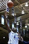 23 November 2014: Duke's Elizabeth Williams. The Duke University Blue Devils hosted the Marquette University Golden Eagles at Cameron Indoor Stadium in Durham, North Carolina in a 2014-15 NCAA Division I Women's Basketball game. Duke won the game 83-51.