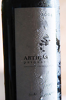 Artigas Priorat Priorato. Vinyes Mas Romani. Spain Europe. Bottle.