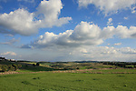 Israel, Menashe' Heights. A view from road 672