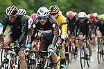 Yet more rain for the peloton during Stage 6 of the Criterium du Dauphine 2019, running 229km from Saint-Vulbas - Plaine de l'Ain to Saint-Michel-de-Maurienne, France. 14th June 2019.<br /> Picture: ASO/Alex Broadway | Cyclefile<br /> All photos usage must carry mandatory copyright credit (© Cyclefile | ASO/Alex Broadway)